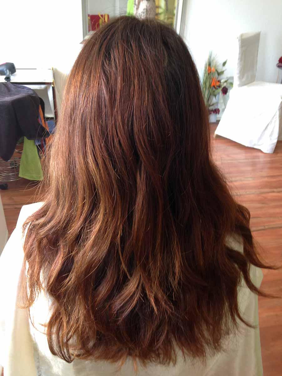 Luftig, leicht und locker, so fällt Haar nach einem Hair-Impulsing-Schnitt